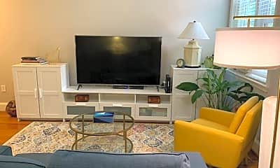 Living Room, 1347 Euclid St NW, 1