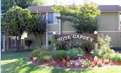 Landscaping, Rose Garden Apartments, 0