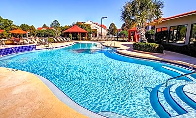 Pool, The Park at Nottingham Apartments, 0