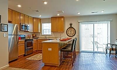 Kitchen, West Creek Village Apartments, 0