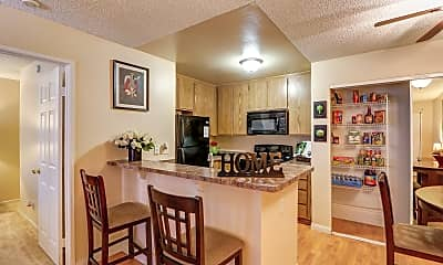 Kitchen, The Springs Apartments, 1