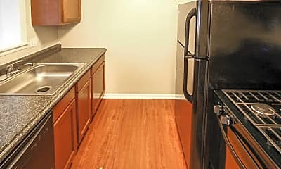 Kitchen, Foster Park Apartments, 0