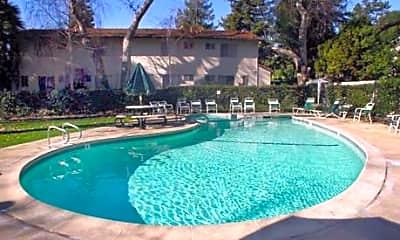 Pool, Dry Creek Apartments, 1
