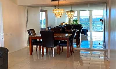 Dining Room, 601 Three Islands Boulevard 505, 0