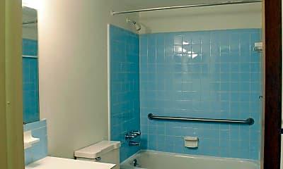 Bathroom, Colonial Village Apartments, 2