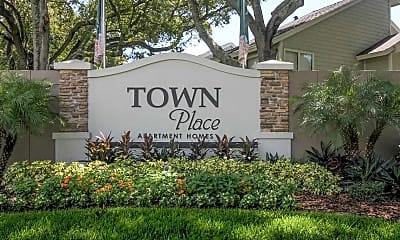 Community Signage, Town Place, 2