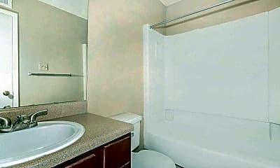 Bathroom, Hillcrest Village, 2