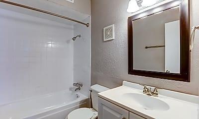 Bathroom, Parkview Apartments, 2