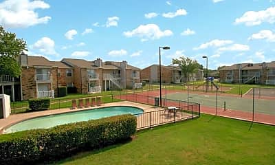 Pool, Carrollton Oaks, 1