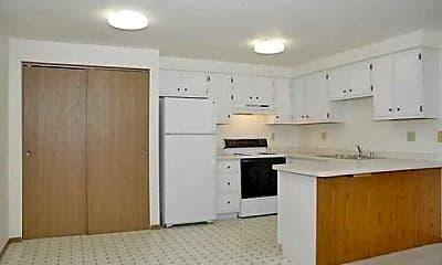 Kitchen, Tower Village Apartments, 1