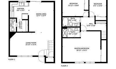 Building, 1418 Culver Pl, 2
