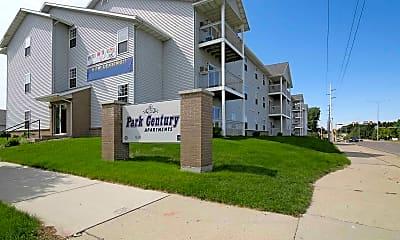 Community Signage, Park Century Apartments, 0