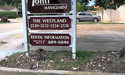 Westland Apartments, 1