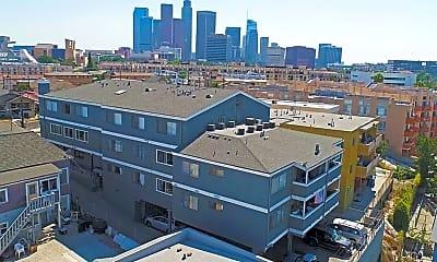 Building, 829 N Bunker Hill Ave., 1