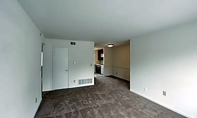 Living Room, Collinwood Apartments, 1
