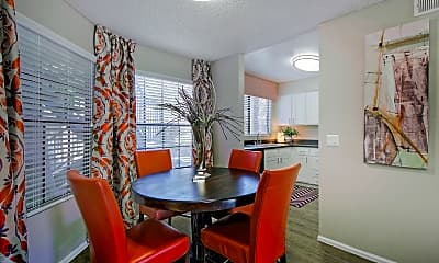 Dining Room, Fountain Palms, 1