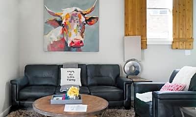 Living Room, 3703b Woodmont Blvd, 1