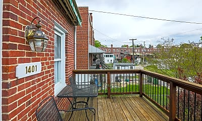 Patio / Deck, 1401 Medfield Ave, 1