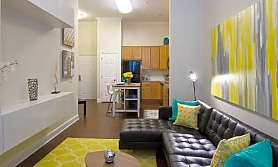Living Room, Paramount at Spectrum Luxury Apartments, 1