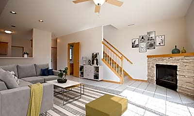 Living Room, Crystal Bay Townhomes, 0