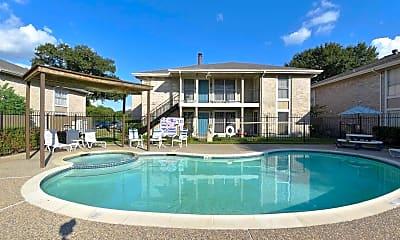 Pool, Langham Creek Apartments, 0