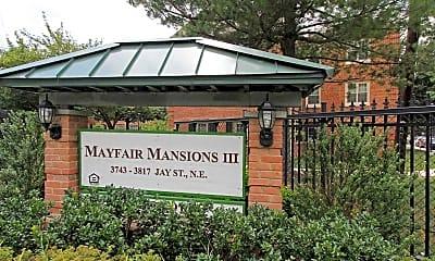 Community Signage, Mayfair Mansions III, 2