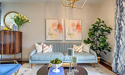 Living Room, River Crossing, 1