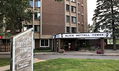 Alice Nettell Tower, 1