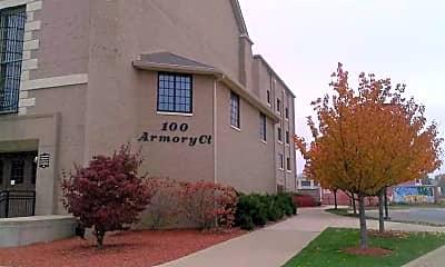 Building, Armory Artswalk Apartments, 0