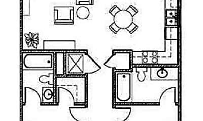 Patio / Deck, 1403 University Blvd, 2