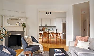 Living Room, 267 W 139th St, 2