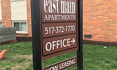 East Main Apartments, 1