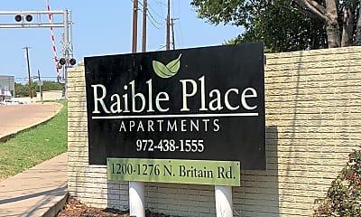 Raible Place Apartments, 1