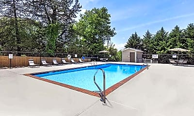 Pool, Ridgeside Apartments, 1