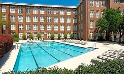 Pool, The Lofts at USC, 0