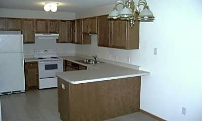 Kitchen, Isanti Village Apartments, 1
