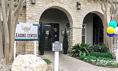 Community Signage, The Lodge, 2