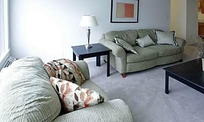 Living Room, Edgewood Park Apartments, 1