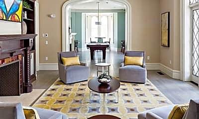 Living Room, Avalon Ossining, 0