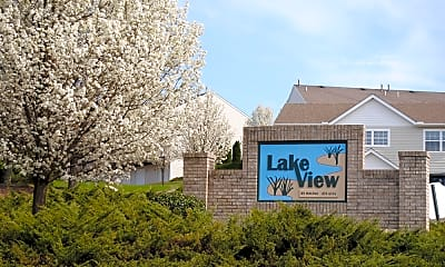Community Signage, Lake View Townhomes, 1