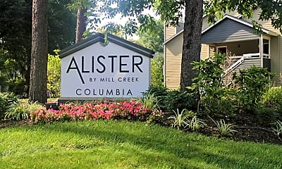 Community Signage, Alister Columbia, 2