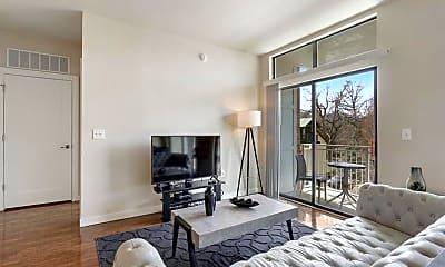 Living Room, 299 North Highland Avenue Northeast 3041, 1