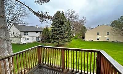 Patio / Deck, 831 Bloomfield Village Blvd #G, 2