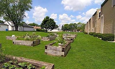 Recreation Area, Evergreen Square, 1