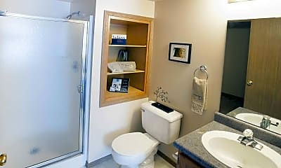 Bathroom, Ozark Plantation Apartments, 2