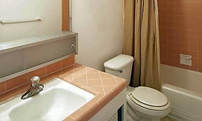 Bathroom, Westwood Apts, 2