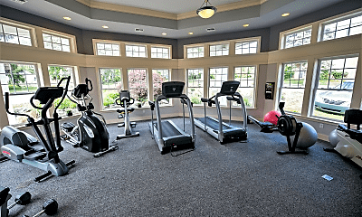 Fitness Weight Room, Goshen Manor Apartments, 2