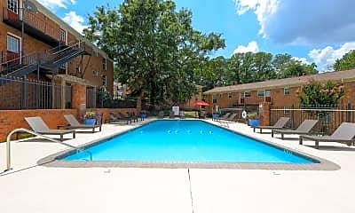 Pool, Hidden Colony Apartments, 1