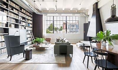 Living Room, 1445 Church St NW 34, 1