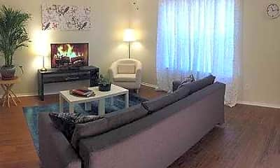 Living Room, Stone Fountain Apartments, 0